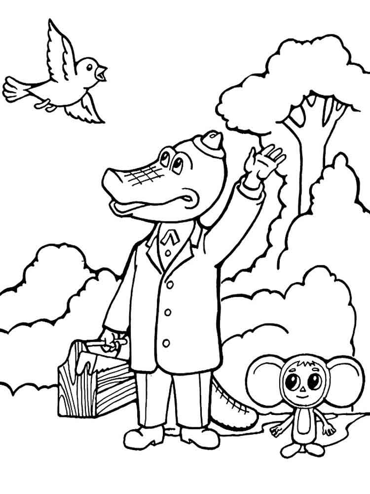 raskraski-krokodil-gena-12