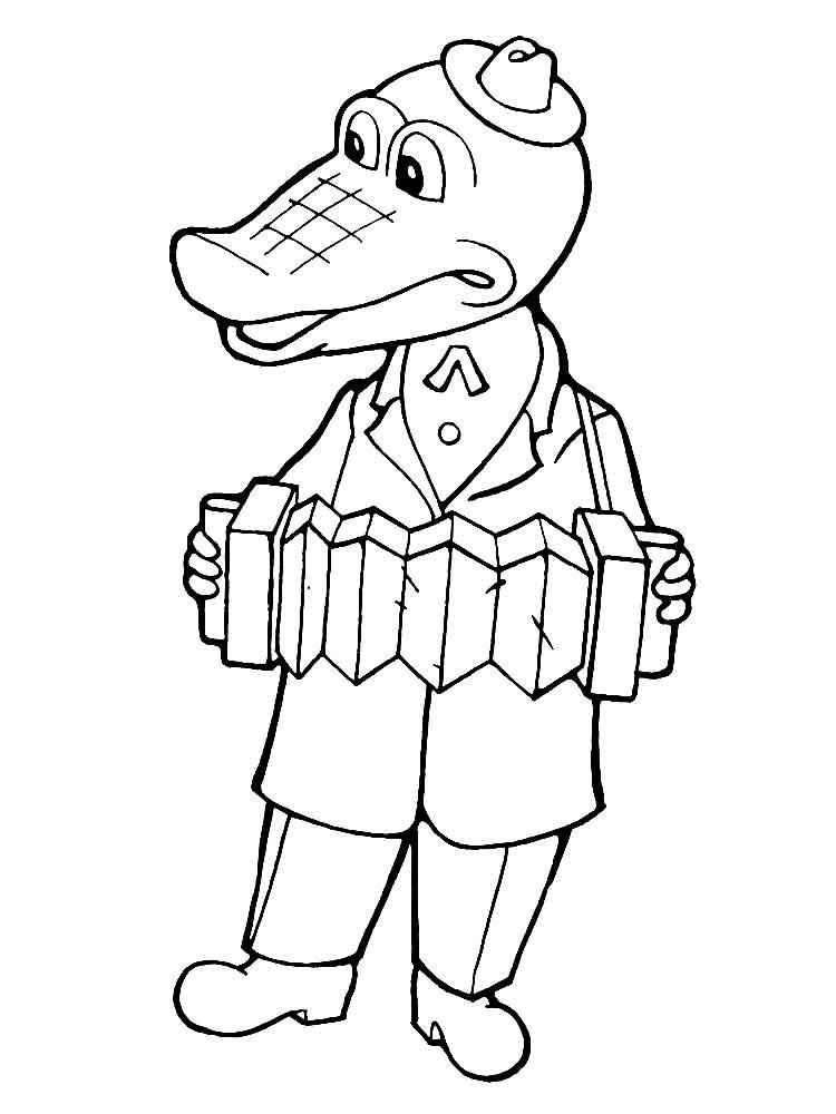 raskraski-krokodil-gena-3
