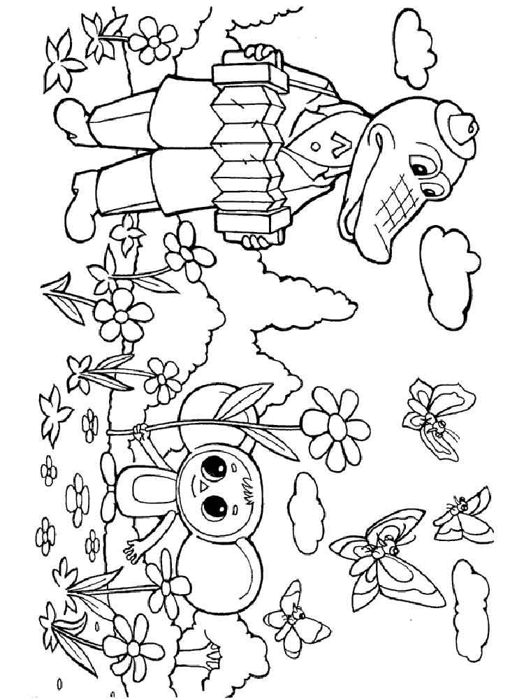 raskraski-krokodil-gena-4