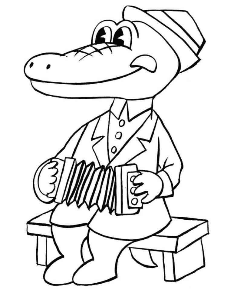 raskraski-krokodil-gena-5