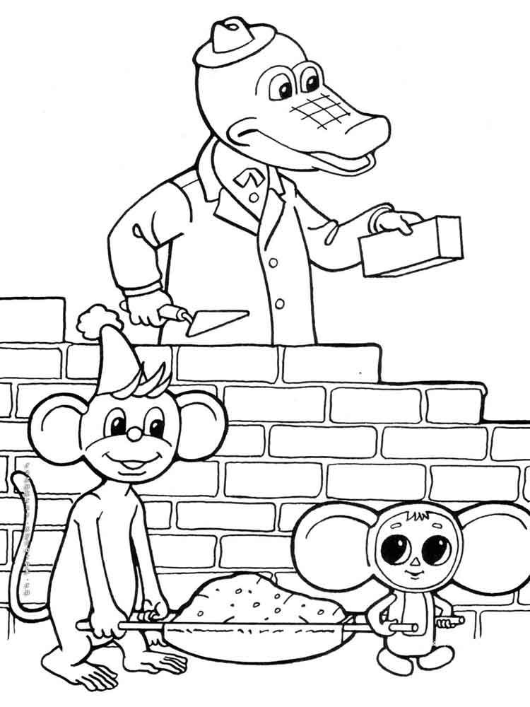 raskraski-krokodil-gena-6