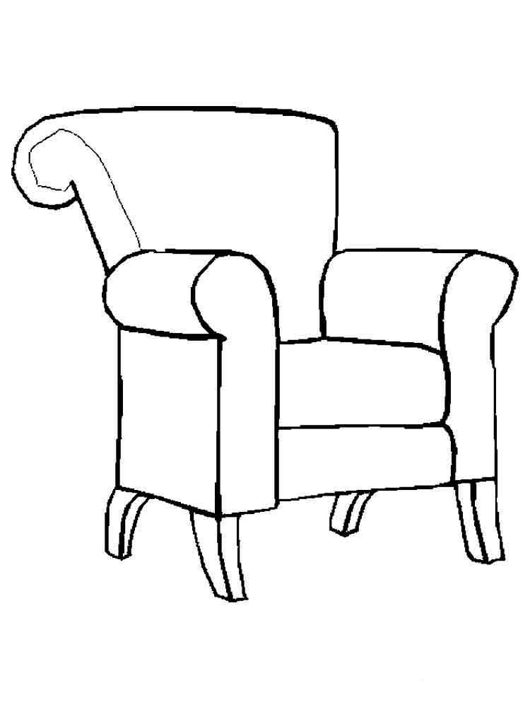Картинки рисуем мебель