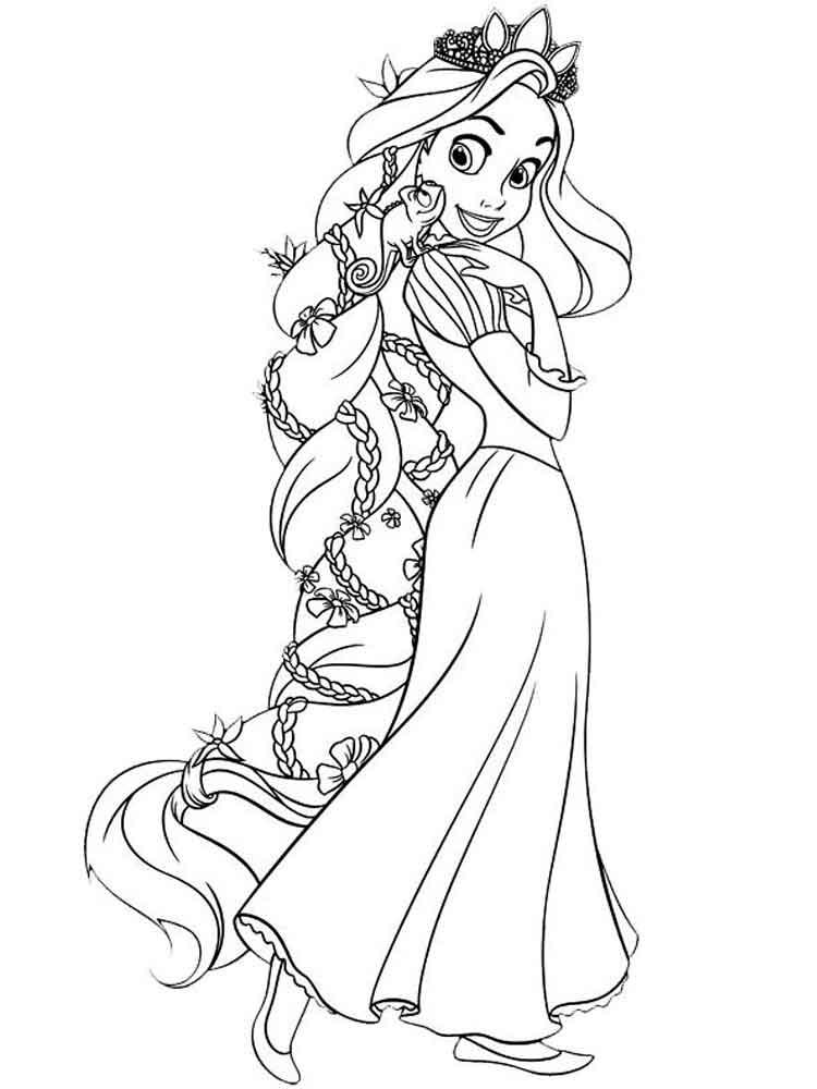 раскраски принцессы диснея скачать и распечатать раскраски