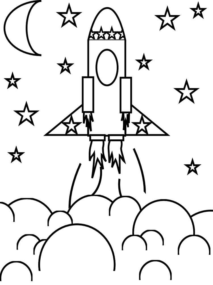 его словам, черно-белые картинки для распечатки ракеты друзьям всегда рада