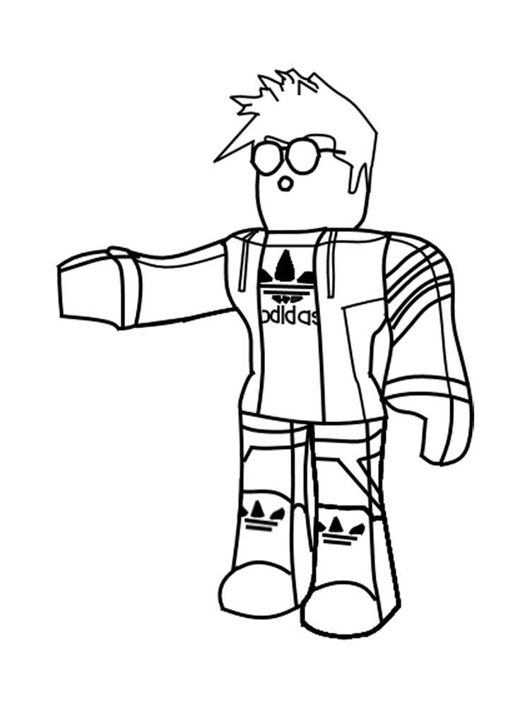 Раскраски Роблокс. Скачать и распечатать раскраски Роблокс