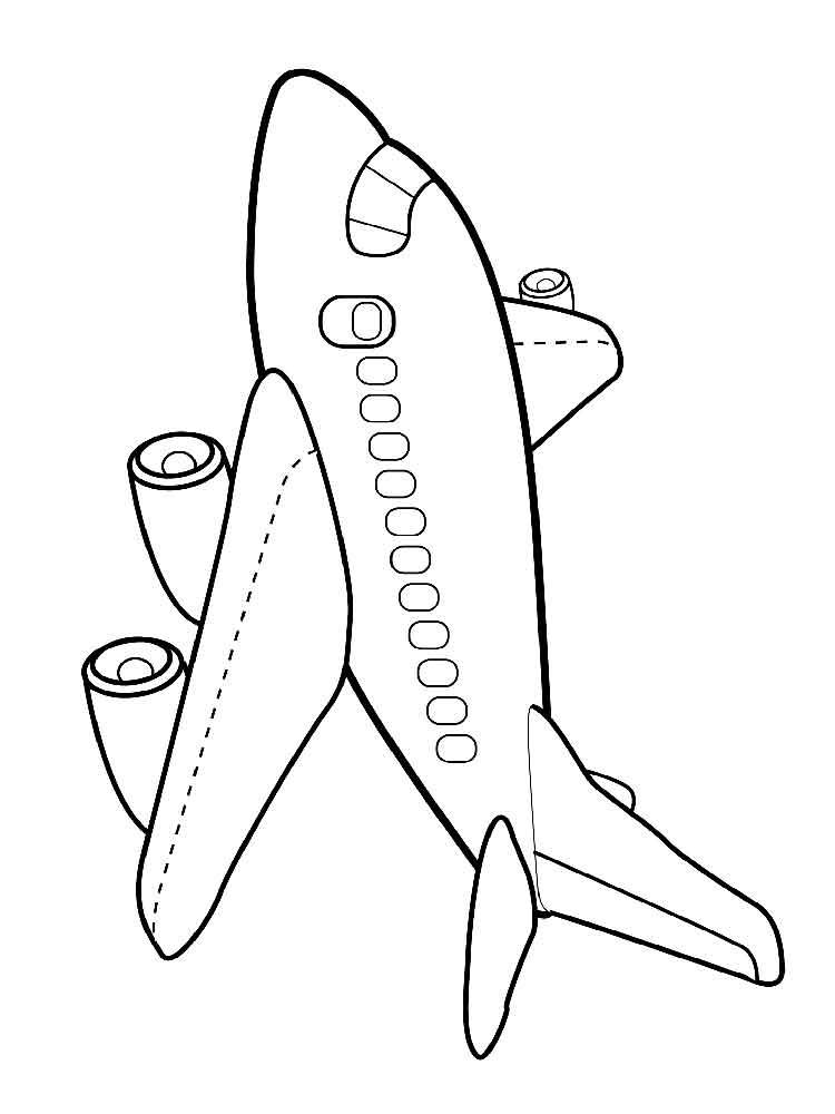 Раскраски Самолеты. Скачать и распечатать раскраски Самолеты