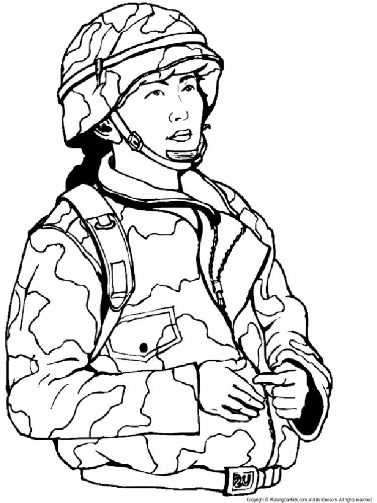 раскраска солдаты военные предлагает вам