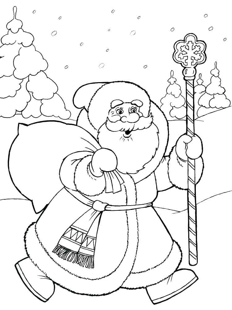 Картинка деда мороза и снегурочки распечатать, картинки детей надписью