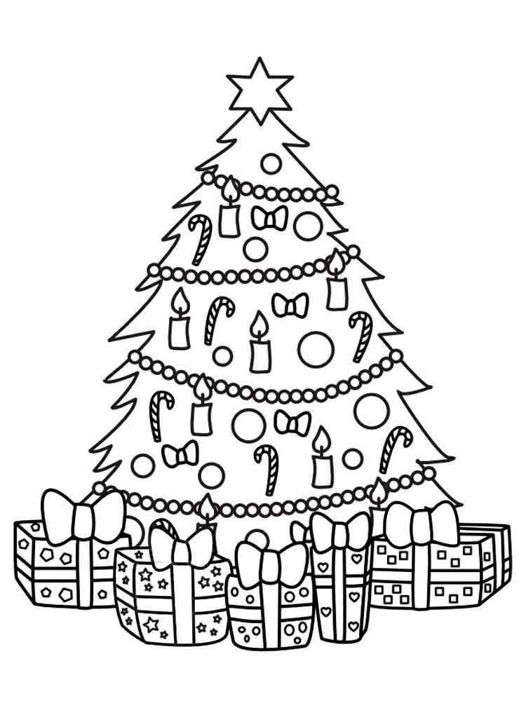 новогодняя елочка раскраска взял марка рычаги