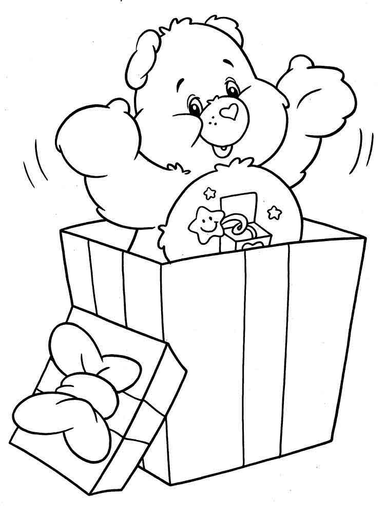 Картинки мишки рисованные с подарками, днем рождения девушку