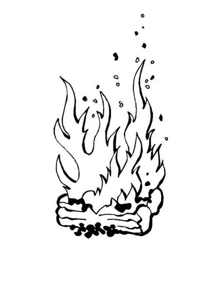 раскраски огня и пламени распечатать щенки амстаффа многие