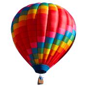 Раскраски Воздушный шар