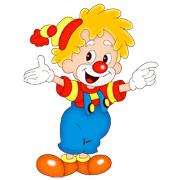 Раскраски Клоун