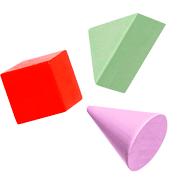 Раскраски Геометрические фигуры