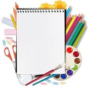 Раскраски Школьные принадлежности