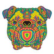 Раскраски Мандала Животные