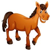 Раскраски Лошадь