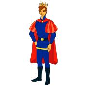 Раскраски Принц