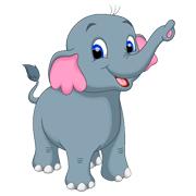 Раскраски Слон