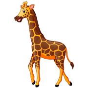 Раскраски Жираф
