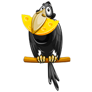Раскраски Ворона