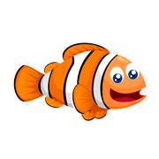 Раскраски Рыба Клоун