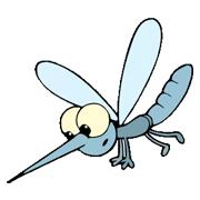 Раскраски Комар