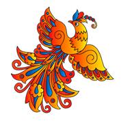 Раскраски Жар-птица