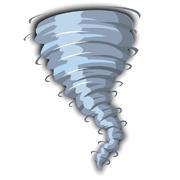 Раскраски Торнадо (Смерч)