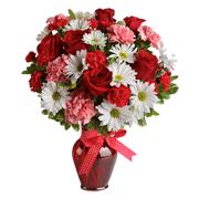 Раскраски Цветы в вазе