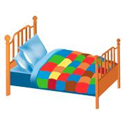 Раскраски Кровать