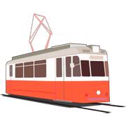 Раскраски Трамвай