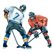 Раскраски Хоккей