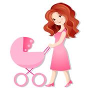 Раскраски День Матери