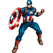 Раскраски Капитан Америка
