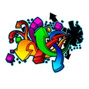 Раскраски Граффити