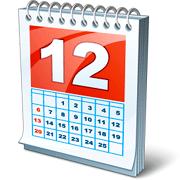Раскраски Календарь