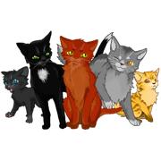 Раскраски Коты воители
