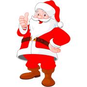 Раскраски Санта Клаус
