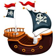 Раскраски Пиратский корабль