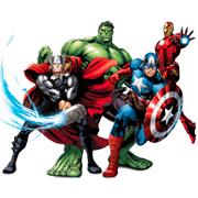 Раскраски Супергерои