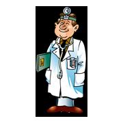 Раскраски Врач (Доктор)