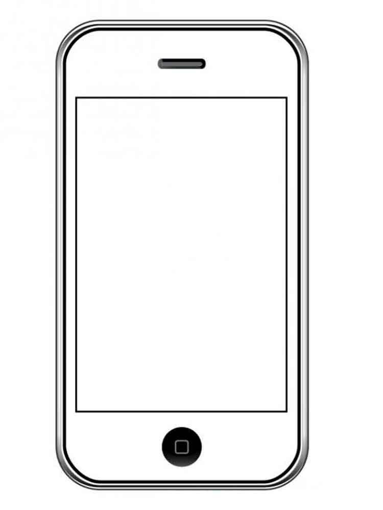 Картинки телефона распечатать