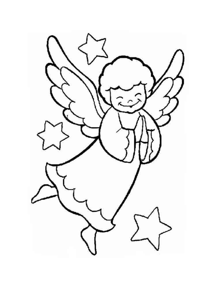 Рисунок ангелы для детей, картинки смешные красивые