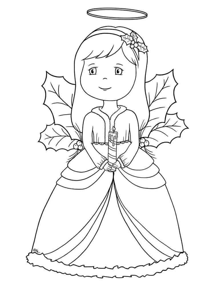 Картинка ангела с крыльями для детей раскраска, смешные картинки день