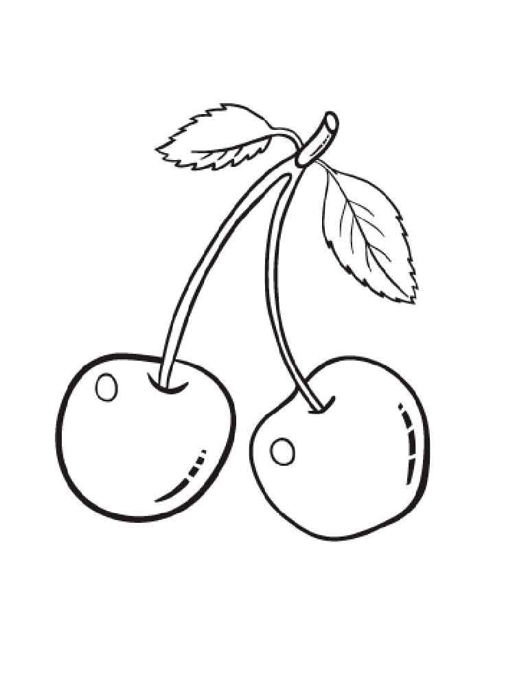 Скелета, картинки вишни для срисовки