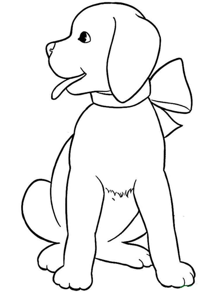 картинки собачек для распечатки